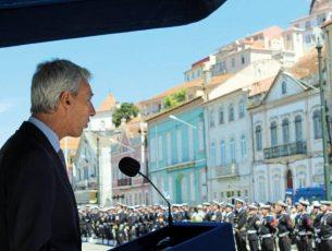 Institutos Pedro Nunes e Hidrográfico devem reforçar parceria, desafia o ministro da Defesa