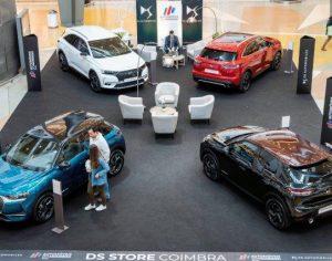 Grupo Automóveis do Mondego expõe marca DS no Alma Shopping