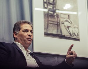 Foto: Pedro Agostinho Cruz Carlos Monteiro foi entrevistado no Dez&10