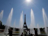 Temperaturas começam a descer ligeiramente na Europa