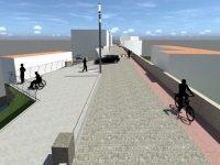 Diário de Soure: Alargamento da ponte vai permitir trânsito nos dois sentidos, ciclovia e  via pedonal