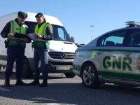 Última semana: GNR deteve 341 pessoas em flagrante delito