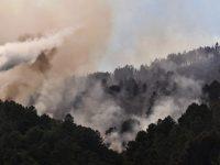 Extinto fogo que movimentou mais de uma centena de bombeiros