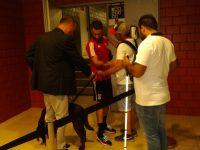 O invisual do Benfica que quis abraçar Rafa no estádio de Coimbra