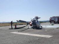"""Helicóptero acidentado """"já foi substituído por outro"""""""