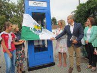 Biblioteca comunitária a funcionar desde ontem numa cabina telefónica em Góis