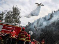 Chuva forte acabou com o fogo em Miranda do Corvo