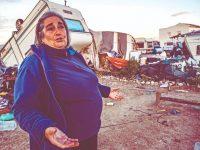 Um ano depois o rasto da tempestade Leslie ainda é de destruição