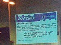 Autarquia de Coimbra analisa legalidade da greve nas piscinas