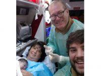 Tripulantes de ambulância fazem parto a caminho de Coimbra