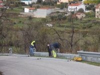 Reparação de estradas e ajardinamento em Tábua