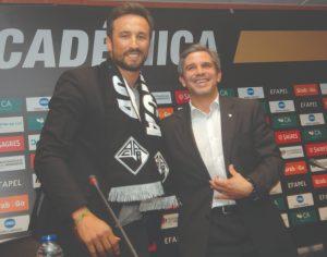 Arquivo-Carlos Jorge Monteiro - César Peixoto foi apresentado com treinador da Briosa a 19 de junho de 2019