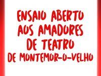 Montemor-o-Velho promove 32 horas de formação a amadores de teatro