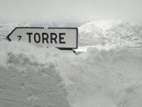 Mau Tempo: Estradas encerradas na serra da Estrela devido à queda de neve