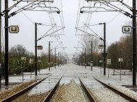 Redução do nível de água permite retomar as ligações ferroviárias em Alfarelos