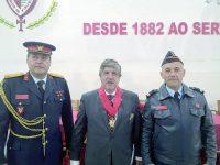 DB-J.A. - João Moreira, Lídio Lopes e Jody Rato (à direita)