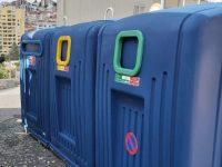 Ecopontos da via pública estão a ser desinfetados