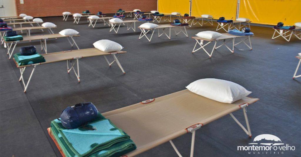 Covid-19: Montemor-o-Velho criou centros de acolhimento com mais de 150 camas