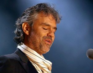 Acordo para Andrea Bocelli