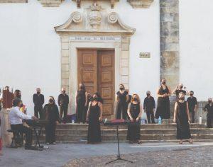 Coro Inês de Castro retoma ensaios presenciais