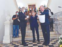 Dia do Município de Soure homenageou 40 profissionais de saúde e melhores alunos