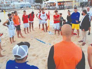 Futebol de praia: AD Buarcos 2017 começa hoje a lutar pela subida