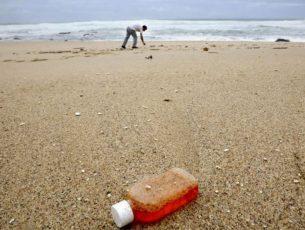 Demonstração na Figueira da Foz antecipa recolha de lixo nas praias por drones