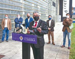DB-Pedro Ramos - A cerimónia decorreu ontem no Vale das Flores, junto à Oficina Municipal do Teatro