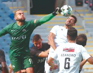 Arquivo-Carlos Jorge Monteiro - Mika é o guarda-redes menos batido da 2.ª Liga (três golos sofridos em sete jornadas)