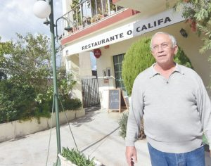 Restaurante O Califa apaga 21 velas em janeiro