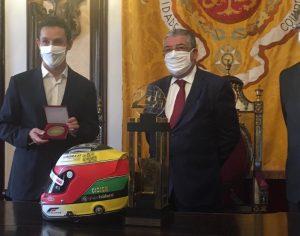Automobilismo: Câmara de Coimbra homenageia Filipe Albuquerque pela conquista das 24 de Le Mans