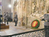 Dia do Exército homenageou o primeiro Rei de Portugal no Mosteiro de Santa Cruz
