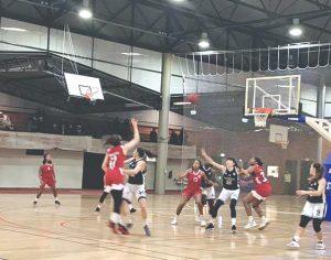 Arquivo-Olivais FC - Olivais venceu o Benfica, 64-60, no prolongamento, no último jogo entre as duas equipas em Coimbra, disputado a 21 de dezembro de 2019 no pavilhão n.º1  do Estádio Universitário de Coimbra