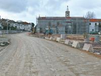 Requalificação junto ao Convento reforça segurança rodoviária e pedonal
