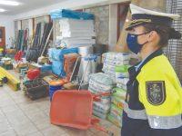 GNR de Cantanhede recuperou cerca de seis toneladas de material furtado