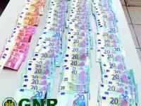 GNR recupera 2500 euros furtados em residência