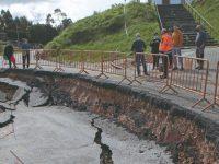 Estrada entre Soure e Sobral abate e trânsito é cortado