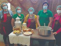 Meãs do Campo inventou taça de arroz doce que também se come