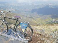 Oliveira do Hospital: Bicicleta no Colcurinho é miradouro para tirar fotos