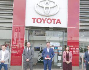 Prémio europeu da Toyota distinguiu Caetano Auto Coimbra