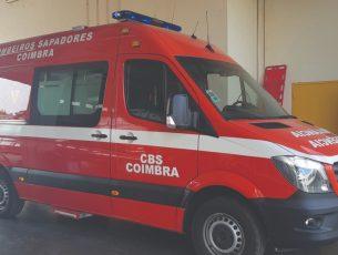 Explosão em Almalaguês fere bombeiro aposentado