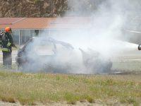 Simulacro de acidente aéreo em Pampilhosa da Serra para certificação do heliporto