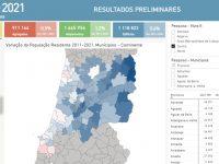 Censos2021: Aveiro, Leiria e Viseu crescem e Coimbra perde