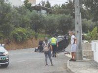 Capotamento às portas de Tábua fez um ferido