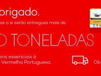 Intermarché doa mais de 10 toneladas de bens à Cruz Vermelha