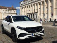 Mercedes EQA afirma-se como automóvel elétrico de grande autonomia