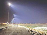 Iluminação que permite surfar à noite na Figueira da Foz é hoje inaugurada