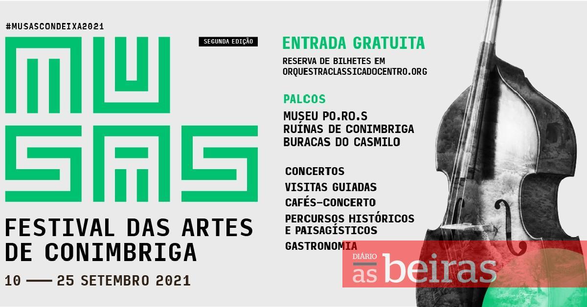 Festival de Conímbriga regressa com concerto nas Buracas do Casmilo