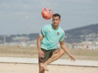 """Seleção de futebol de praia com """"enorme vontade"""" de mostrar valor na Liga Europeia"""