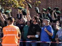 Centenas de ex-paraquedistas vaiam e pedem demissão do ministro da Defesa e do CEME